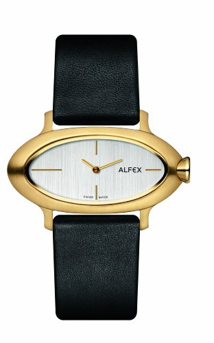 Alfex Women's Quartz Watch Analogue Display and Leather Strap 5623_468