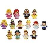 Fisher Price Little People Disney Princess Dolls ~ SET OF 14 FIGURES