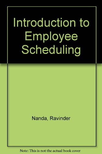 Introduction to Employee Scheduling
