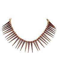 Sharnam Art Smart Ethnic Brown Necklace For All The Fun Loving Girls For Women - Pt_812