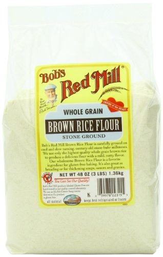 Bob's Red Mill Gluten Free Brown Rice Flour, 48-ounce (Pack of 4) (Flour Brown Rice compare prices)