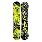 Lib Tech Skate Banana BTX Snowboard, Yellow - 156cm