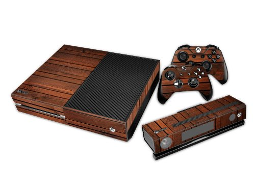 Big Save! Full Protective Xbox One Skin with 2PCS Protective Vinyl Skin Decals Cover for Microsoft X...