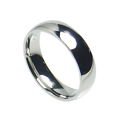 7mm Stainless Steel Comfort Fit Plain Wedding Band Ring Size 6-15 (8)
