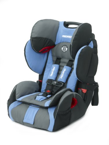 RECARO ProSPORT Combination Harness To Booster Car Seat, Blue Opal
