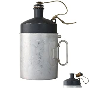 Swiss Aluminum M32 Canteen by Sturm European Military Surplus