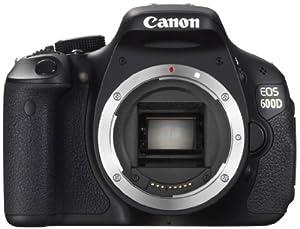 Canon EOS 600D SLR-Digitalkamera (18 Megapixel, 7,6 cm (3 Zoll) schwenkbares Display, Full HD) Gehäuse