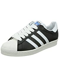 Adidas Men's Superstar 80s NIGO, BLACK/WHITE/WHITE