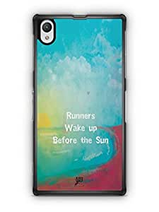 YuBingo Runners Wake Up Before The Sun Mobile Case Back Cover for Sony Xperia Z1