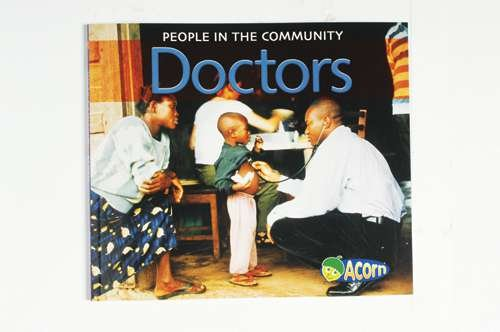 Doctors - People In The Community Softcover Book