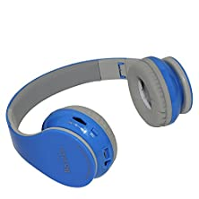 buy New Beyution@Brand Blue Color Smart Wireless Bluetooth 4.0 Headphone---For All Tablet Mid, Smart Cell Phone And All Bluetooth Device