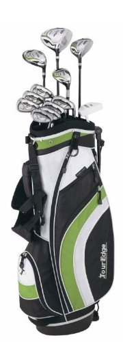 Tour Edge HP20 Golf Club Box Set, Right Hand, Graphite, Uniflex, 1-Inch