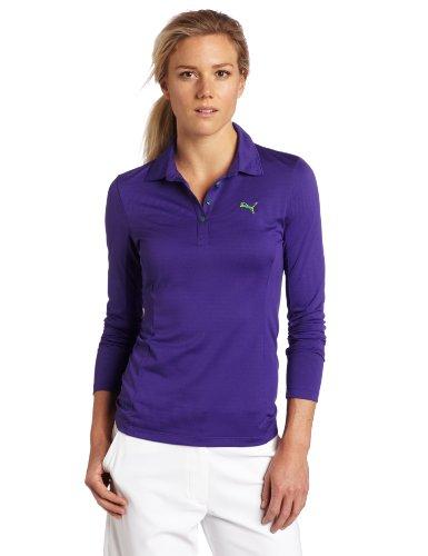 Puma Women's Golf Long Sleeve Tech Polo