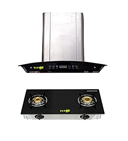 Janitor Chimney and BB-SERIES 2 Burner Cooktop