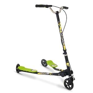 D'Arpèje - Funbee - bicicletas y coches para niños - de 3 ruedas Scooter Duo y 2 pies de plataforma + freno al manillar