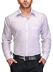 PSK Regular Full Sleeve Men's Formal Shirt White