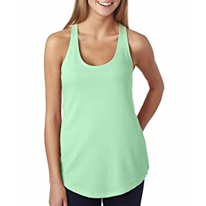 6933 Next Level The Racerback Terry Tank Mint M