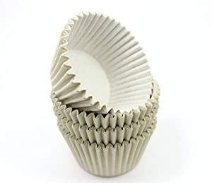 48 Ivory High Quality Cupcake Muffin Cases
