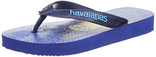 HavaianasMinions - Sandali  Unisex per bambini , Blu (Blue (Blue Star 3847)), 31/32 EU, 29/30 BR