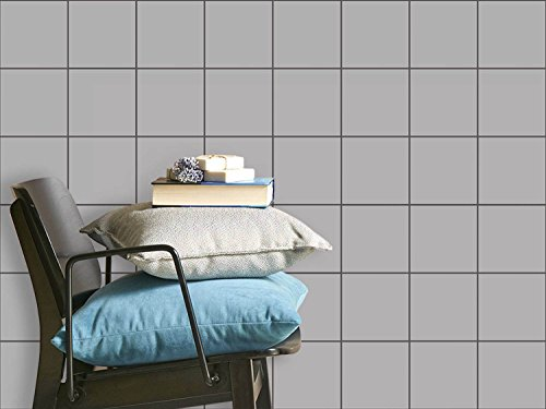 carrelage autocollant sticker mosa que murale enjolivement de salle de bains motif gris. Black Bedroom Furniture Sets. Home Design Ideas