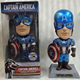 Funko Captain America Metallic Paint Limited Edition Bobblehead
