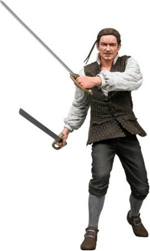 NECA Pirates of the Caribbean Curse of the Black Pearl Series 2 Action Figure Will Turner