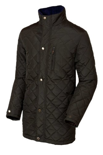Target Dry Mens Dundrum Quilted Jacket (XL, Olive)