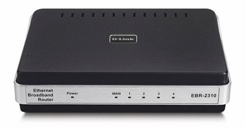 D-Link Ebr-2310 Ethernet Broadband Router