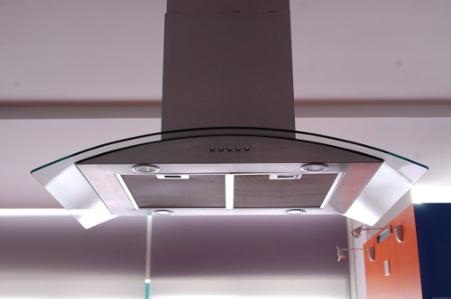 Buy best price eureka 36 european style stainless steel for Best vent hoods review