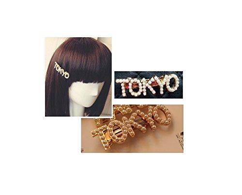 都市名 ロゴ バレッタ TOKYO ヘアアクセサリー