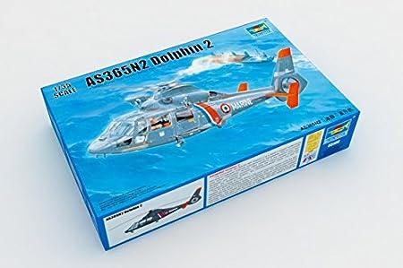 Maquette Hélicoptère : AS365 N2 Dauphin 2