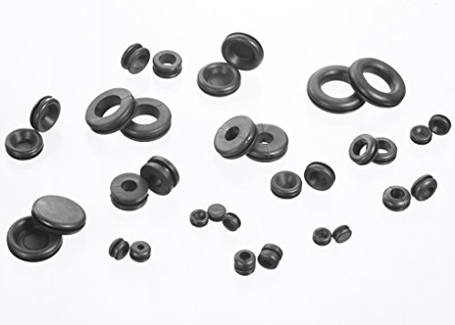 jawaytool 180pc rubber grommets kit  u0026 plug wire ring