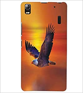 PRINTSWAG EAGLE Designer Back Cover Case for LENNOVO K3 NOTE