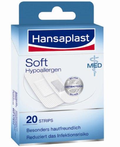 Hansaplast MED Soft Strips, 20 St