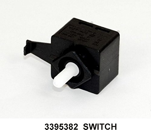 Dryer Push to Start Switch (2 Terminal, PTS Switch) New OEM Whirlpool (Roper Dryer Timer compare prices)