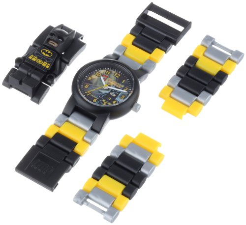 Lego Kids' 9005640 DC Universe Super Heroes Batman Minifigure-Link Watch at Gotham City Store