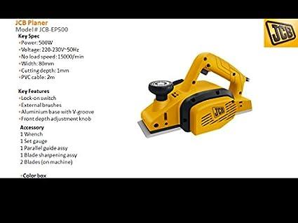 JCB-EP500-500W-Wood-Planer