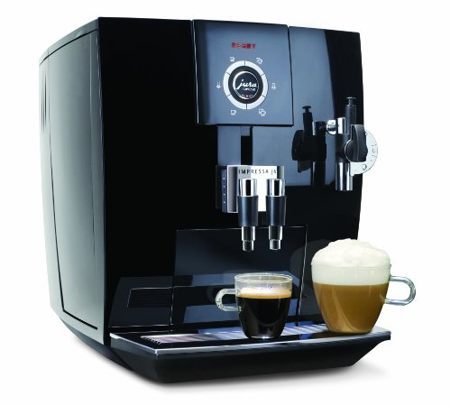 New Jura-Capresso 13548 Impressa J6 Automatic Coffee and Espresso Center, Piano Black