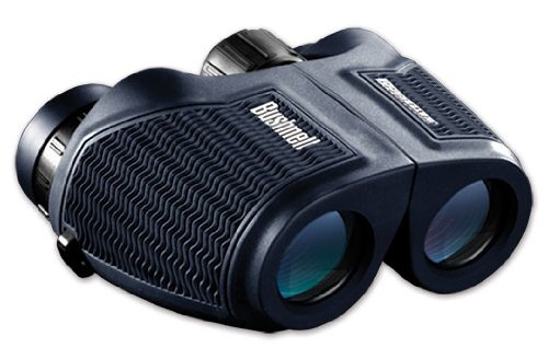 Bushnell H2O Waterproof/Fogproof Compact Inverted Porro Prism Binocular, 8 X 26-Mm, Black