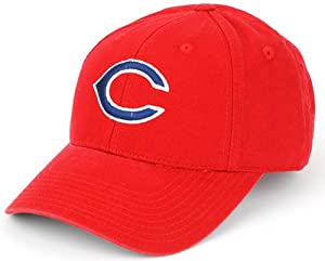 Cleveland Indians Cincinnati Reds MLB Retro Logo Pastime Replica Destructured Cap by American Needle