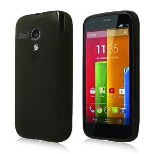 Schicke Schutzhülle für Motorola Moto G - Super Slim in Transparent Schwarz von PrimaCase