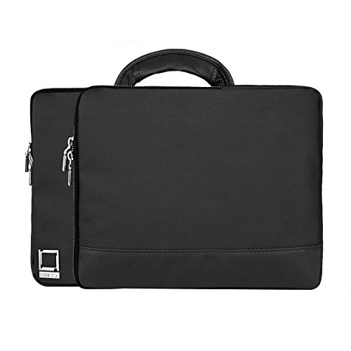 lencca-divided-case-briefcase-bag-briefcase-with-cap-sleeve-case-for-10-133-inch-laptop-notebook-lap