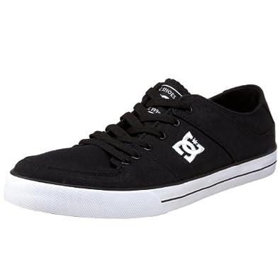 DC Shoes PURE ZERO TX SHOE D0302915, Herren, Sneaker, Schwarz (BKWD BLACK/WHITE), EU 43 (UK 9) (US 10)
