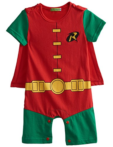 A&J Design Baby Boys' Robin Short Sleeve Romper Costume (12-18 Months) (Aj 16 compare prices)