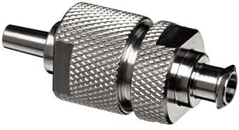 Whatman 1980-001 Stainless Steel Membrane Filter Holder Syringe Filter Type, 13mm Diameter
