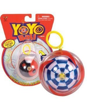 Yo-Yo Ball (Assorted Colors and Patterns) - 1