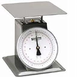 Salter Brecknell 250-8-22 Portion Control Mechanical Top Loading Scales, 22 lb x 2 oz