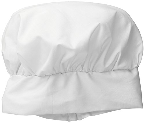 Jacobson Hat Company Men's Chef Hat - Elastic Back, White, Adult
