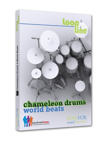 Sonivox Chameleon Drums 2 - World Beats - Looping Software