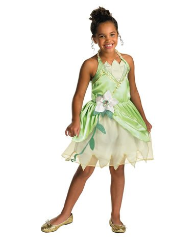 Disguise Inc Girls' Disney Princess And The Frog Tiana Classic Costume